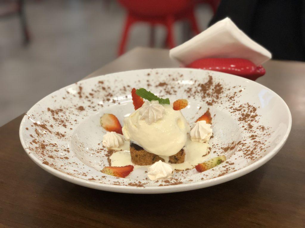 Aglio Rosso - Panama - Brownie con Helado - I